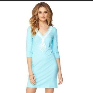 Lilly Pulitzer Tidewater Tunic Dress in Spa Blue